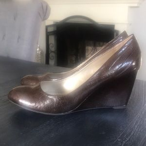 Brown Bandilino Wedges